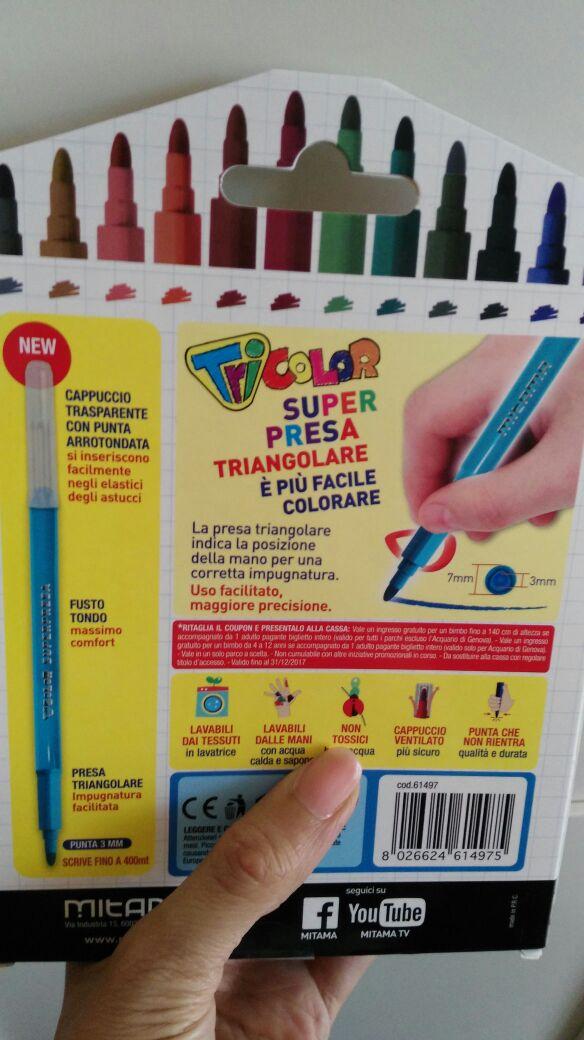 pennarelli per bambini