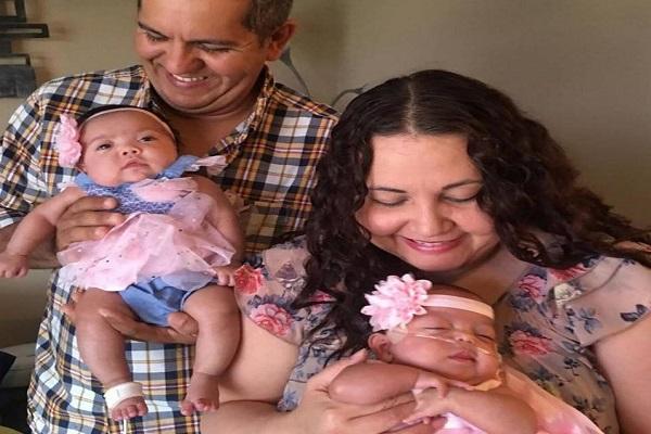 Camilla e Valentina, gemelle premature nate a 22 settimane