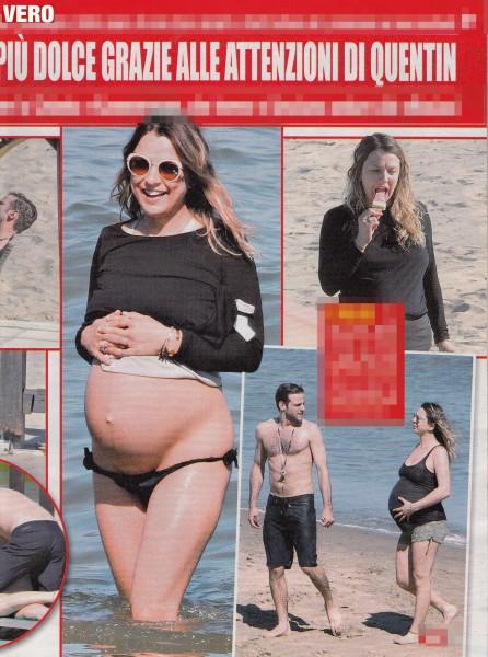 Myriam Catania presto mamma: ultime foto del pancione