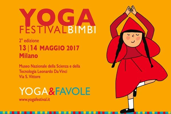 Yoga Festival Bimbi 2017: a Milano lo yoga per i bambini