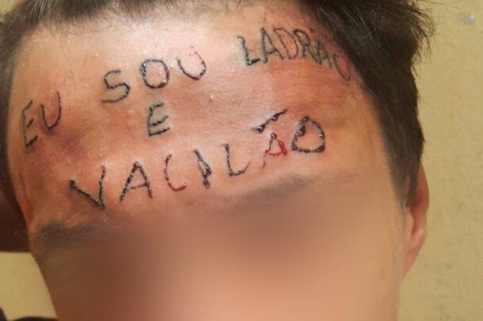 17enne tatuato sulla fronte per punizione: era accusato di furto