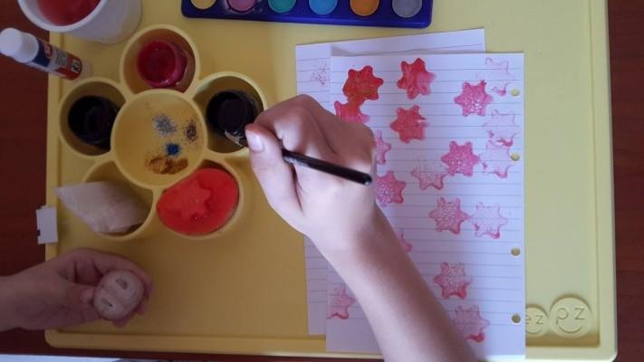 Come colorare senza sporcare
