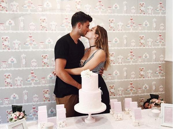 Marco Fantini e Beatrice Valli sono diventati genitori