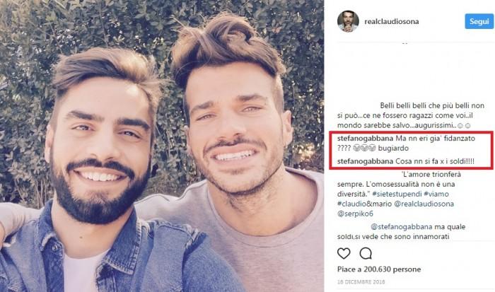 Claudio Sona: bufera sul trono gay di Uomini e Donne