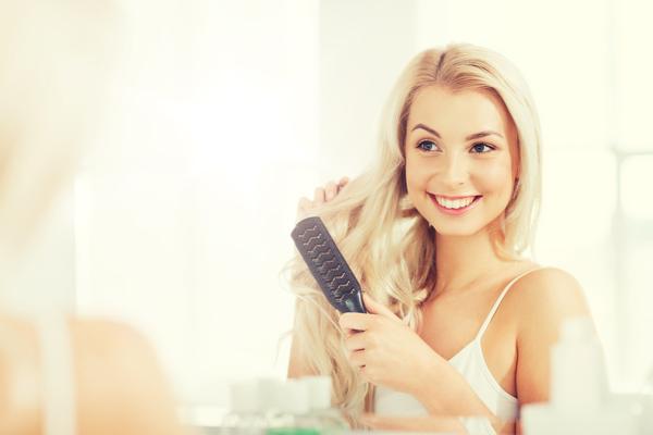 Shampoo a calvizie di uomini
