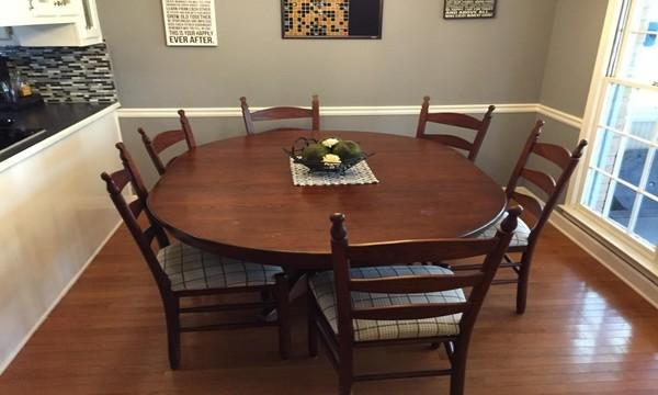 tavolo da pranzo  trasformato