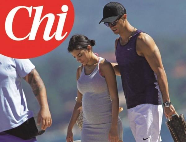 La fidanzata di Cristiano Ronaldo incinta: la foto