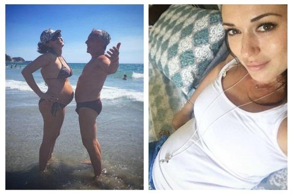 Ex corteggiatrice Claudia Borroni svela il sesso del bebè