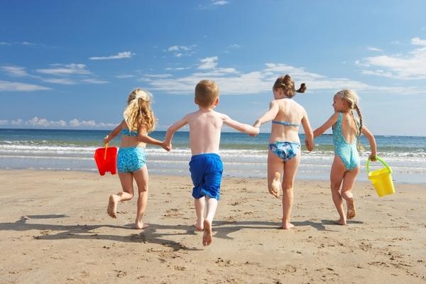 i bambini sono nervosi al mare, ecco il perchè