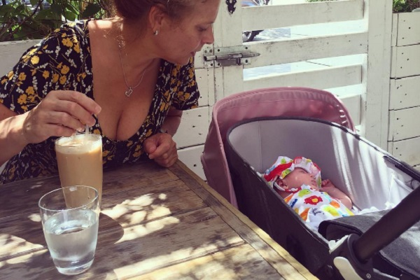Figlia di Clio MakeUp: una neonata molto social