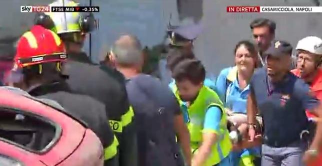Ciro è stato estratto dalle macerie: terremoto a Ischia