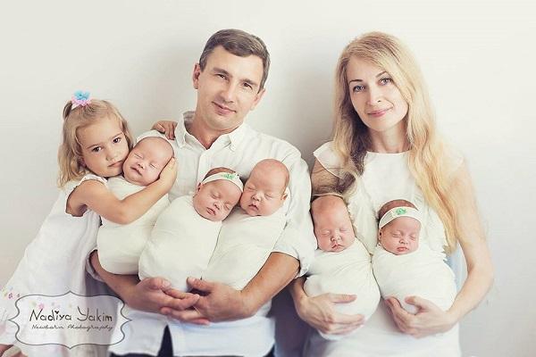 Oksana Kobeletskaya: il suo parto è stato un evento eccezionale