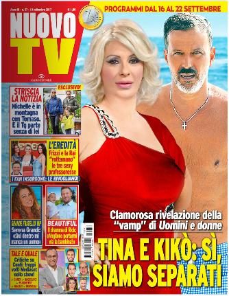 matrimonio di Tina Cipollari