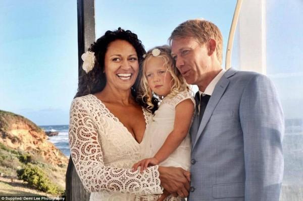 Aminah Hart: neo mamma sposa il suo donatore