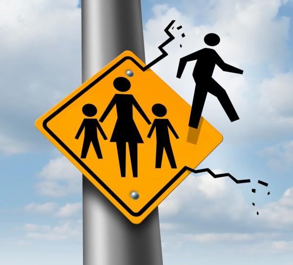 separazione con figli minori, reazione bambini