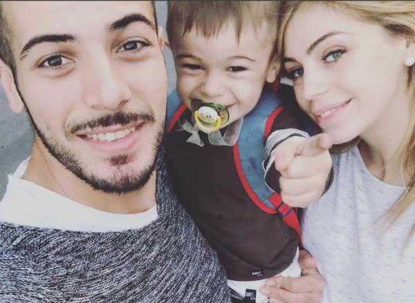 Aldo Palmeri e Alessia Cammarota genitori bis: nato il secondo figlio