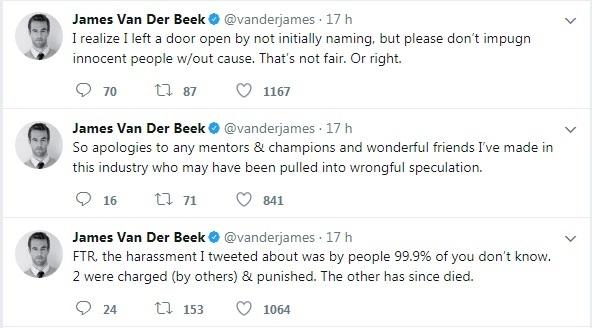 James Van Der Beek parla delle molestie subite