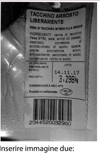 Tacchino arrosto ritirato dal mercato: rischio microbiologico
