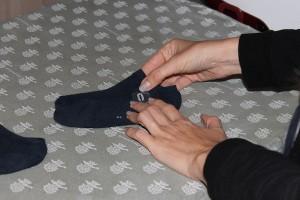 calzini spaiati acchiappacalzini eccolo