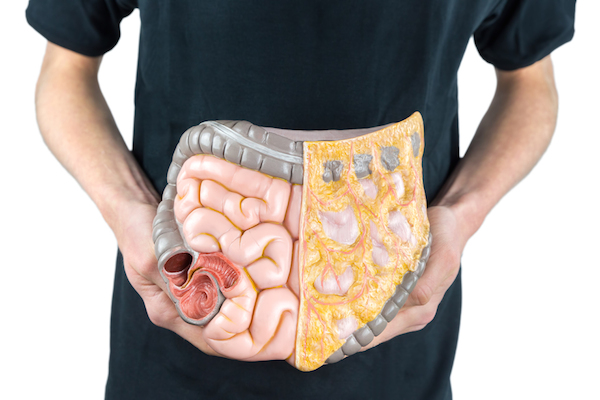 pancia gonfia e regolarutà intestinale