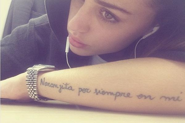 Cosa Significa Il Tatuaggio Di Cecilia Rodriguez