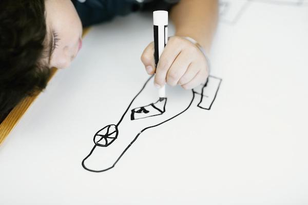 Colore nero nei disegni dei bambini interpretazione