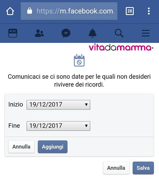 Come eliminare i ricordi di Facebook