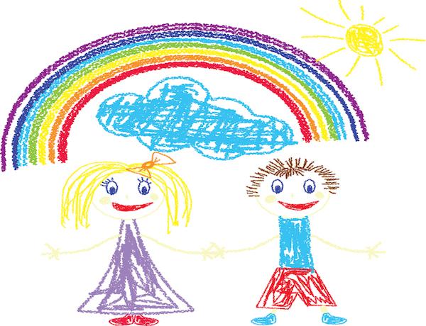 Come Interpretare Il Cielo Nei Disegni Dei Bambini