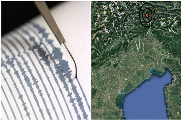 Terremoto con Epicentro a Tolmezzo