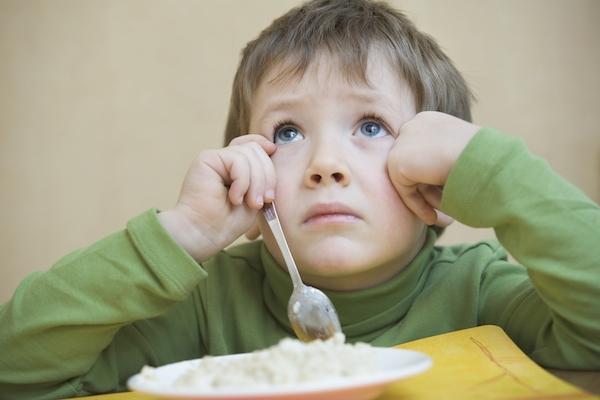 Mio figlio non mangia niente
