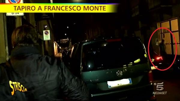 Tapiro per Francesco Monte: con lui c'era Cecilia