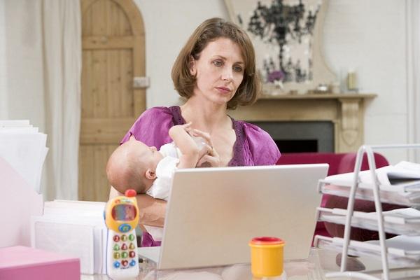 I figli fanno invecchiare le mamme