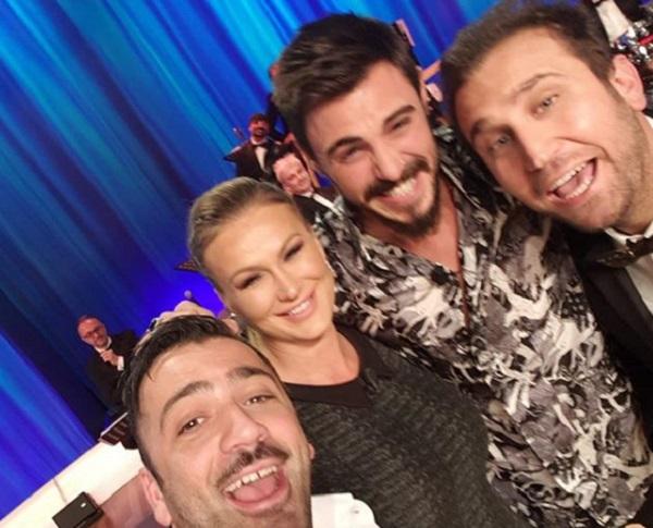 Francesco Monte e Eva Henger al Maurizio Costanzo show
