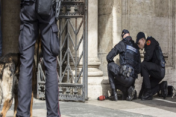 Allarme terrorismo a Roma: rafforzata sicurezza