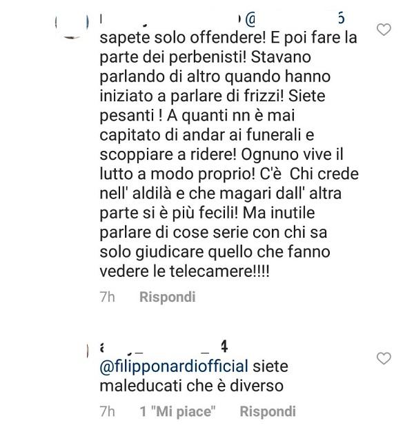 Alessia Marcuzzi ricorda Fabrizio Frizzi all'Isola dei Famosi