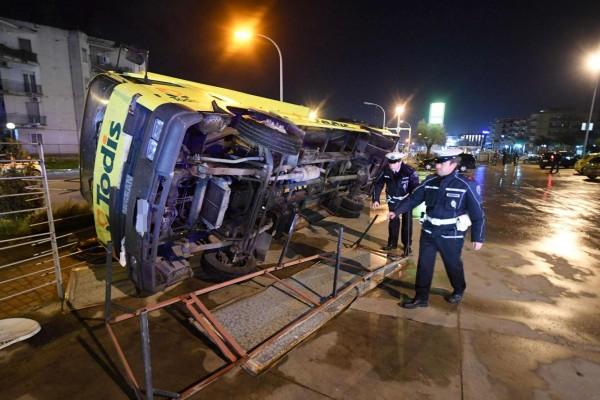 Tromba d'aria a Caserta: 8 feriti, grave un 19enne