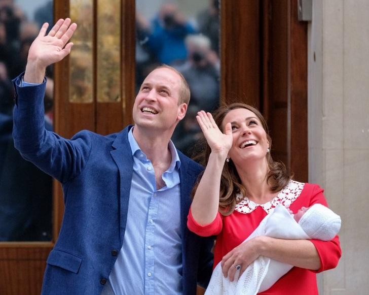 Kate Middleton subito dopo il parto