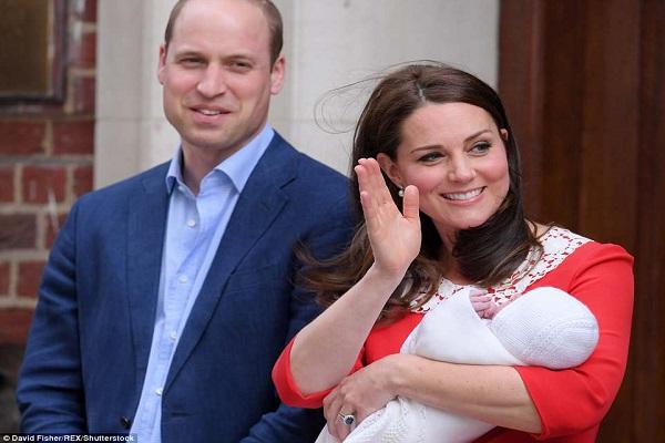 Terzo figlio di William e Kate: primo piano del bebè
