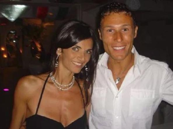 Massimiliano Ossini e sua moglie