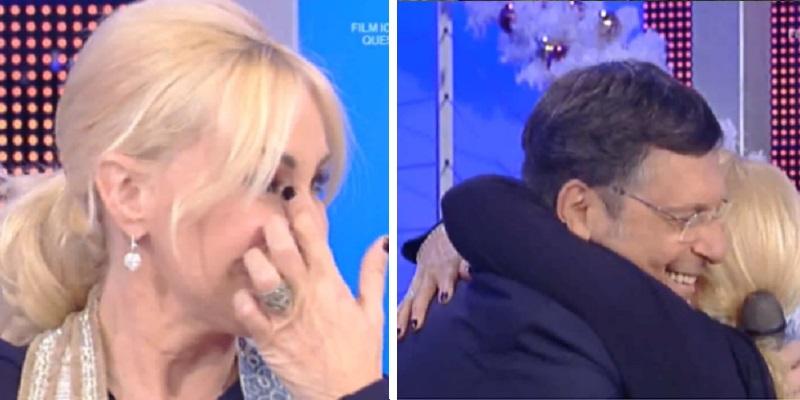 Antonella Clrici e Fabrizio Frizzi