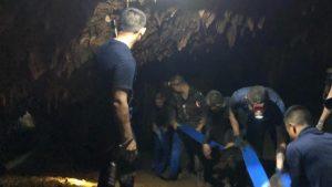I ragazzi intrappolati nella grotta in Thailandia