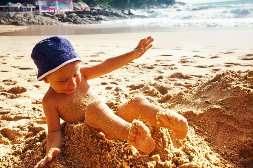 quali sono i pericoli del mare, sabbia