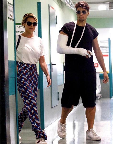 Niccolò Bettarini lascia l'ospedale
