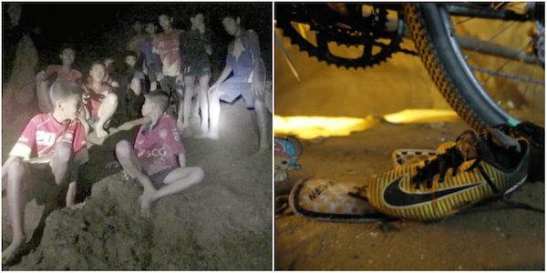 12 ragazzi intrappolati nella grotta tailandese, operazioni di soccorso