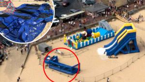 Esplode un gonfiabile sulla spiaggia, una bambina di 3 anni muore