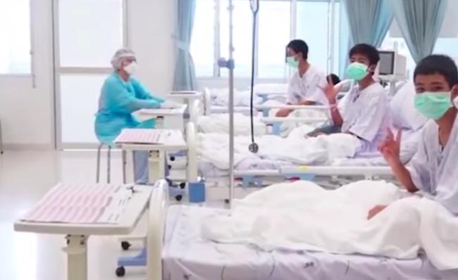 Ragazzi salvati in Thailandia