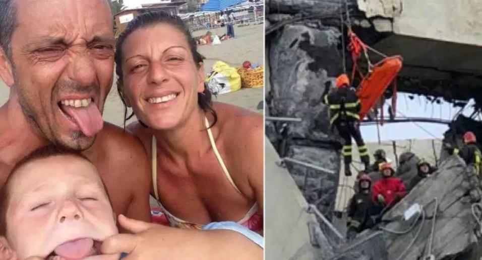 La più piccola vittima del crollo del ponte Morandi e quel dettaglio sul cruscotto dell'auto