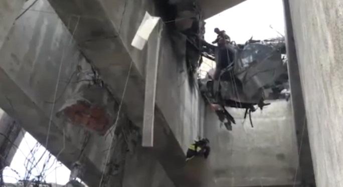 Sopravvissuto al crollo del ponte di Genova: futuro papà miracolato