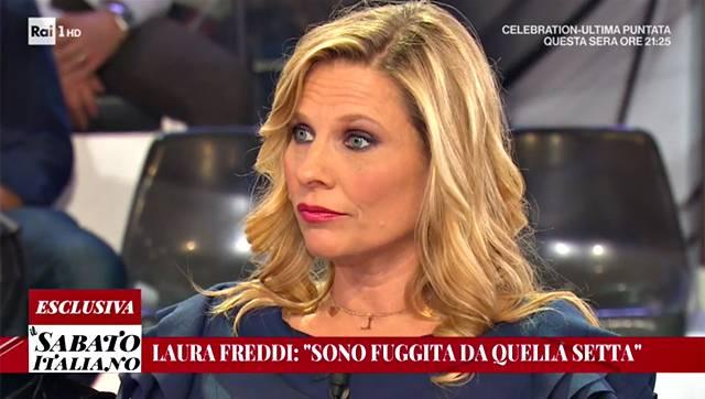 Laura Freddi come Michelle Hunziker setta intervista