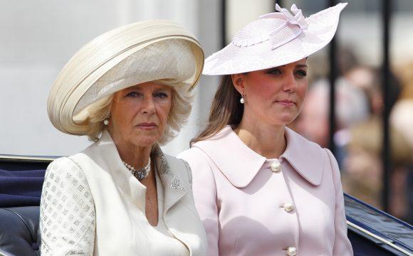 Camilla contro Kate e William